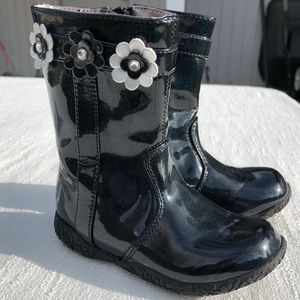Nordstrom Pantent Leather Boots Size 6